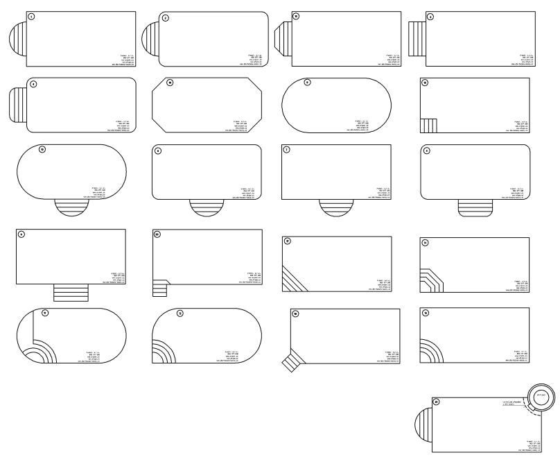 tvary bazénů