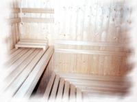 interiér - finská sauna