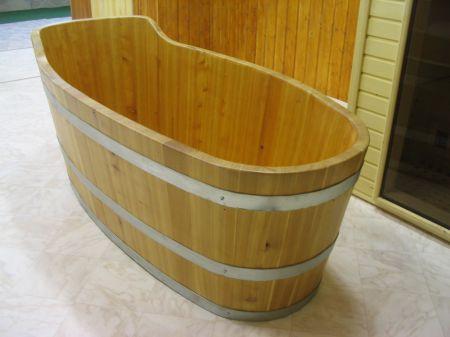 ochalzovací vana  ze dřeva