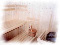 suchá sauna na klíč